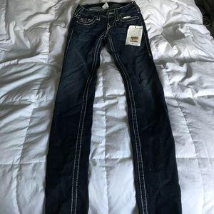 True Religion skinny jeans size 24 new w tags